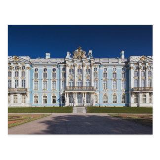 Pushkin-Tsarskoye Selo, palacio de Catherine Tarjetas Postales
