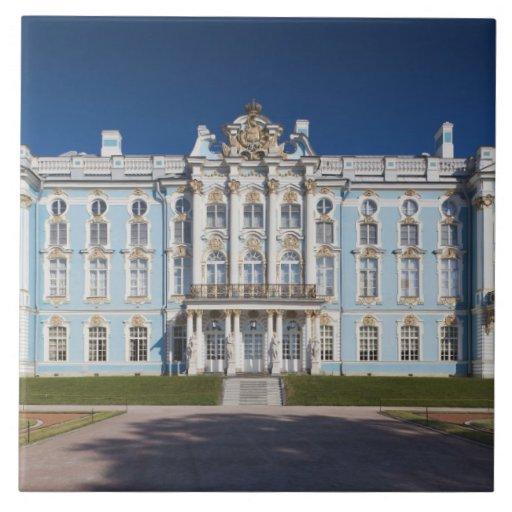 Pushkin-Tsarskoye Selo, palacio de Catherine Teja