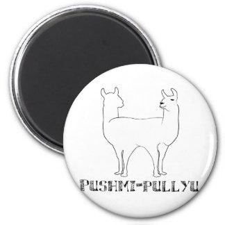 Pushmi-pullyu 2 Inch Round Magnet