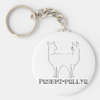 Pushmi-pullyu Llavero Redondo Tipo Pin