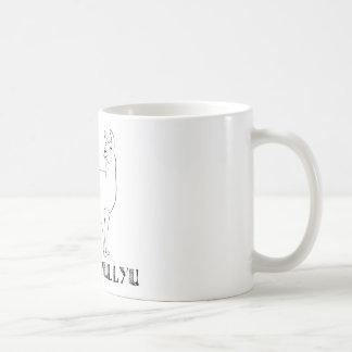 Pushmi-pullyu Taza Básica Blanca