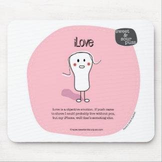 Puss agridulce Mousepad de SSP09-iLove Tapete De Raton