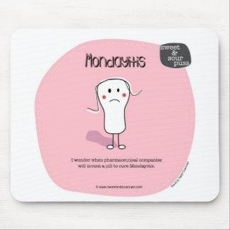 Puss agridulce Mousepad fresco de SSP14-Mondayitis Alfombrilla De Raton