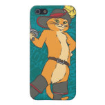 Puss Brandishes Sword Cover For iPhone SE/5/5s
