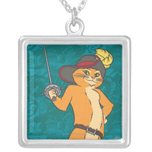 Puss Brandishes Sword Jewelry