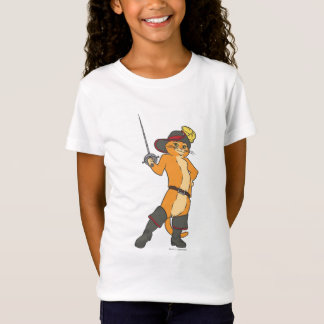 Puss Brandishes Sword T-Shirt