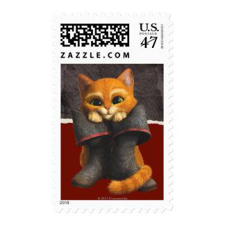 Puss de los jóvenes del CG Timbre Postal