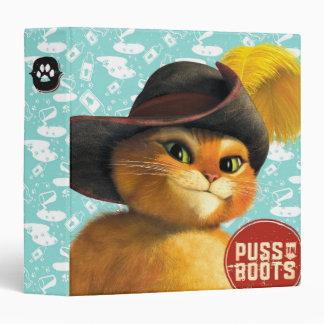 "Puss en botas carpeta 1 1/2"""