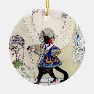 Puss en botas de Kay Nielsen Ornamentos De Navidad