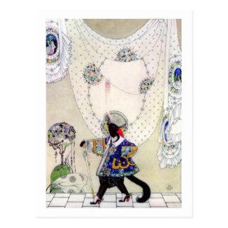 Puss en botas de Kay Nielsen Tarjeta Postal