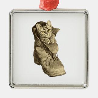 Puss en botas ornamento para reyes magos