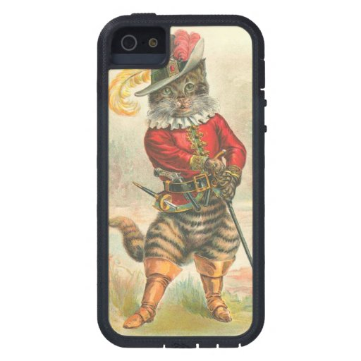 Puss en botas iPhone 5 fundas