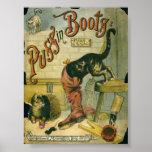 Puss en botas poster
