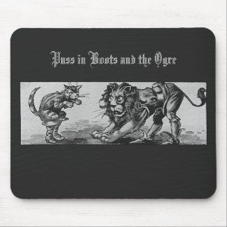 Puss en botas y el León-Ogro Tapete De Ratones