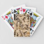 Puss en el ejemplo 1915 del guión de las botas baraja cartas de poker