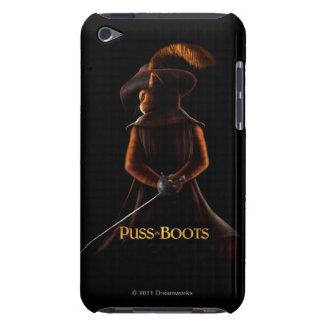 Puss en el negro de las botas iPod Case-Mate fundas