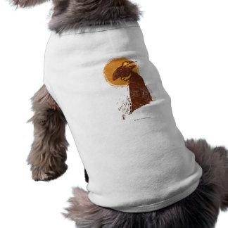 Puss en silueta de las botas camisetas de mascota