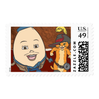 Puss & Humpty Run Stamps