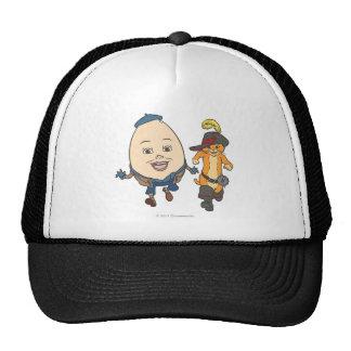 Puss & Humpty Run Trucker Hat