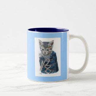 Puss In Boot Two-Tone Coffee Mug