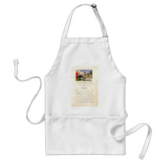 Puss-in-Boots-1695 Adult Apron