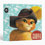Puss In Boots 3 Ring Binder