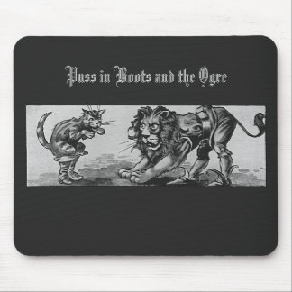Puss in Boots and the Lion-Ogre Mouse Pad