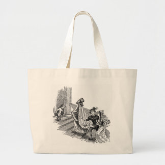 Puss in Boots at the Castle Entrance Tote Bag