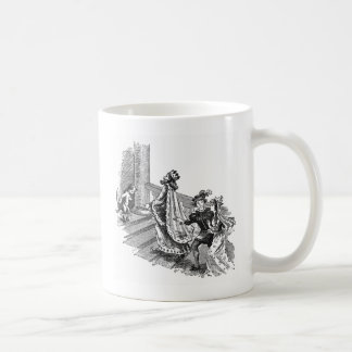Puss in Boots at the Castle Entrance Mug
