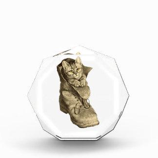 Puss In Boots Acrylic Award