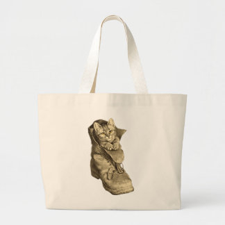 Puss In Boots Tote Bags