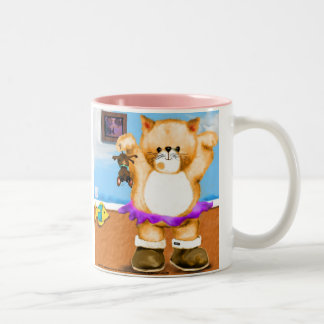 PUSS in BOOTS Ballet Two-Tone Coffee Mug