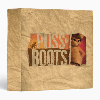 Puss in Boots Binder