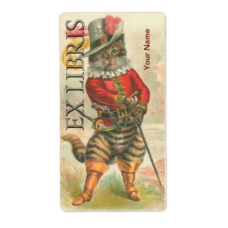 Puss in Boots - Book Plate ID