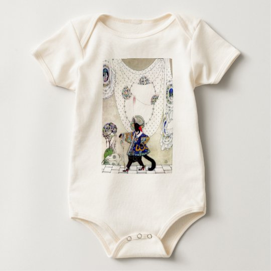 Puss In Boots By Kay Nielsen Baby Bodysuit