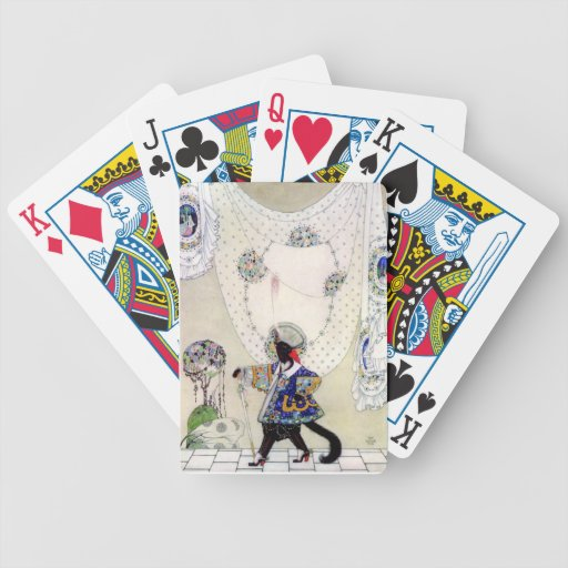 Puss In Boots By Kay Nielsen Bicycle Playing Cards