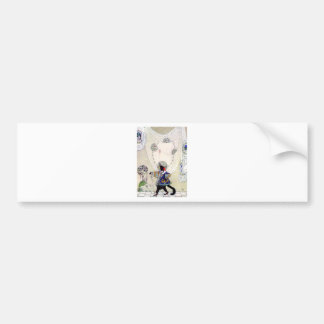 Puss In Boots By Kay Nielsen Car Bumper Sticker