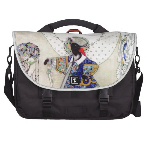 Puss In Boots By Kay Nielsen Laptop Bags