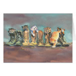 PUSS in BOOTS by SHARON SHARPE Greeting Cards