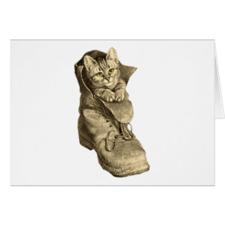 Puss In Boots Greeting Card