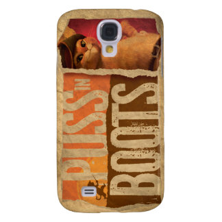 Puss in Boots Galaxy S4 Cover