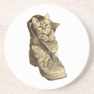 Puss In Boots Beverage Coaster