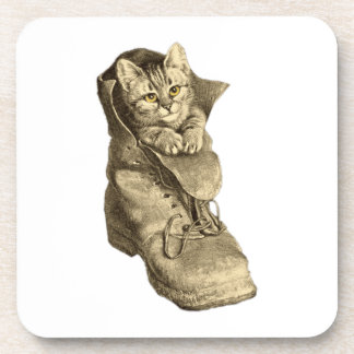 Puss In Boots Drink Coaster