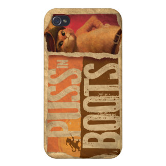 Puss in Boots Cover For iPhone 4