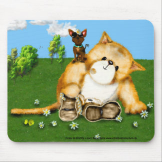 PUSS in BOOTS Daisy Chain mouse mat Mouse Pad