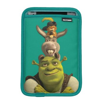 Puss In Boots  Donkey  And Shrek Sleeve For Ipad Mini by ShrekStore at Zazzle