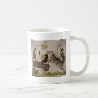 Puss in Boots Gets Boots Classic White Coffee Mug
