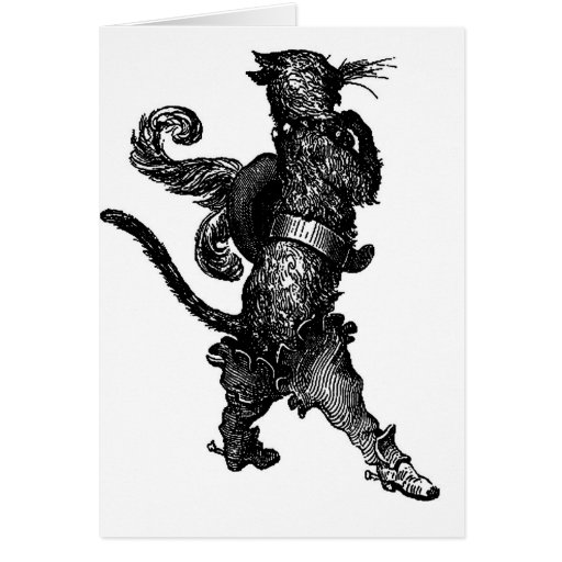 puss in boots greeting cards