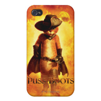 Puss In Boots iPhone 4/4S Cover