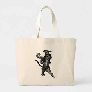 puss in boots jumbo tote bag